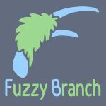 fuzzy branch studio logo